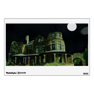 Spooky House Wall Decal