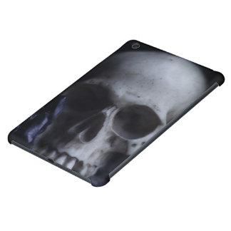 Spooky Human Skull Grim Black White Photography iPad Mini Case