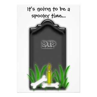 Spooky Personalized Announcements