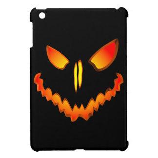Spooky Jack O Lantern Face iPad Mini Covers