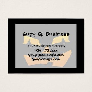 Spooky Jack O Lantern Halloween Pumpkin Face Business Card