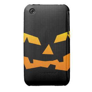 Spooky Jack O Lantern Halloween Pumpkin Face Case-Mate iPhone 3 Cases