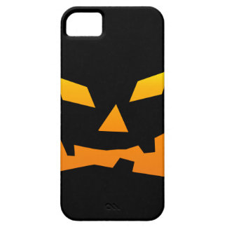 Spooky Jack O Lantern Halloween Pumpkin Face iPhone SE/5/5s Case