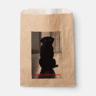 Spooky Labrador Halloween Gift Bag