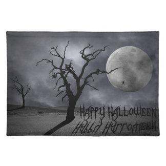 Spooky Landscape Halloween - Placemat Cloth Placemat