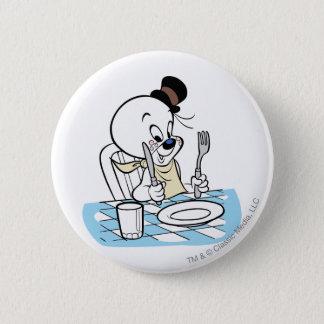 Spooky Lets Eat 2 Pinback Button