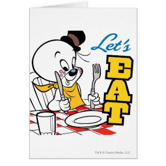 spooky Lets Eat Card