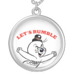 Spooky Lets Rumble Custom Necklace
