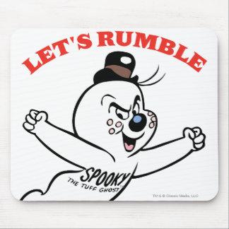 Spooky Lets Rumble Mouse Pad