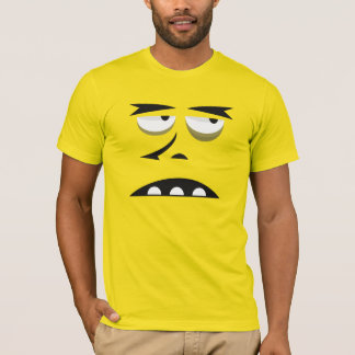 SPOOKY LURCH FACE COSTUME T-Shirt