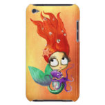Spooky Mermaid with Octopus Barely There iPod Covers
