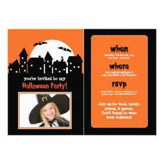 Spooky Moon Halloween Party Invite (photo)