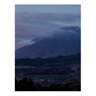 Spooky Mountain Postcard