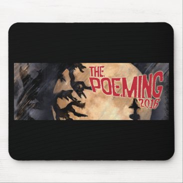 THE_POEMING Spooky Mousepad