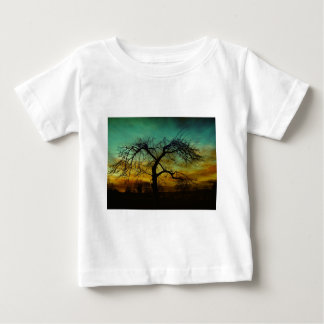 Spooky Nature Tree Autumn Destiny Celebration Tee Shirt