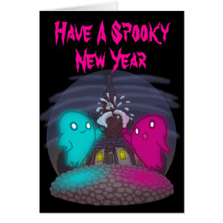 Spooky New Year Card
