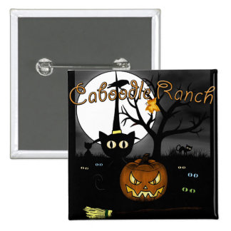 Spooky Night Pinback Button