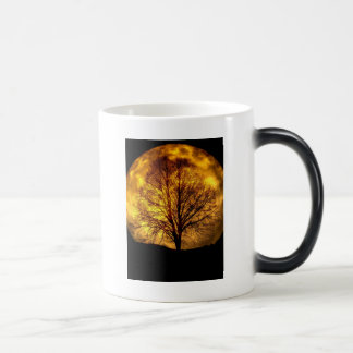 Spooky Night Moon Tree Autumn Destiny Gifts 11 Oz Magic Heat Color-Changing Coffee Mug