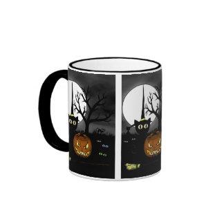 'Spooky Night' Ringer Coffee Mug
