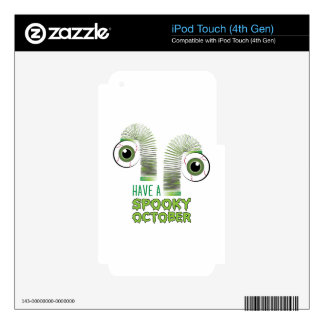 Spooky October Skins For iPod Touch 4G