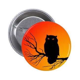 Spooky Owl Pin
