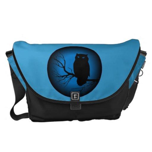 Spooky Owl Messenger Bag