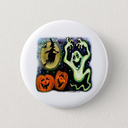 Spooky Pinback Button