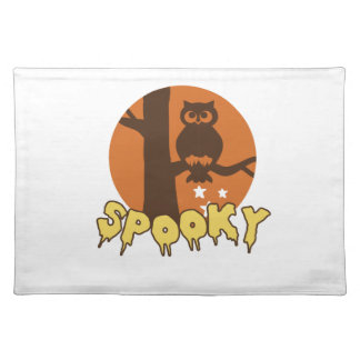 Spooky Cloth Placemat