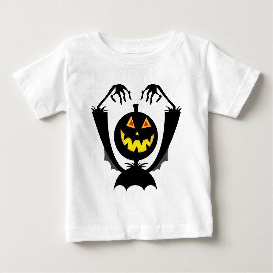 Spooky Pumpkin Baby T-Shirt