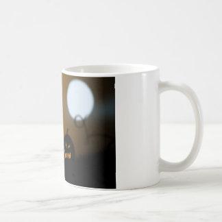 Spooky Pumpkin mug! Classic White Coffee Mug