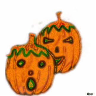 Spooky Pumpkins Photo Pin Photo Sculpture Button