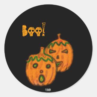 Spooky Pumpkins Stickers