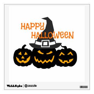 Spooky Pumpkins Wall Sticker