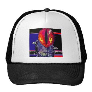 Spooky Ravens Vampire Eye By Sharles Trucker Hat