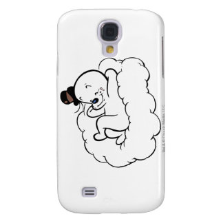 Spooky Relaxing On Cloud Samsung Galaxy S4 Case