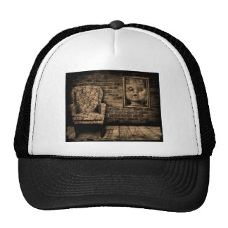 Spooky room. trucker hat