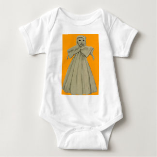 Spooky Scary Ghost Spirit Doll Child Baby Bodysuit