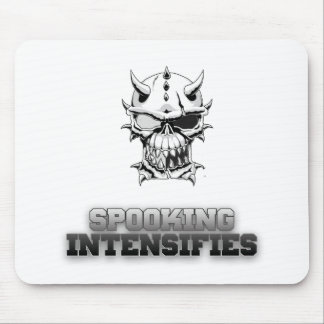 Spooky Scary Skeleton Design Mouse Pad