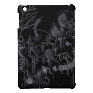 Spooky Shadow Gal iPad Mini Covers