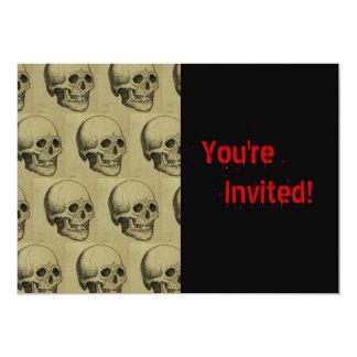 Spooky Skulls Halloween Card