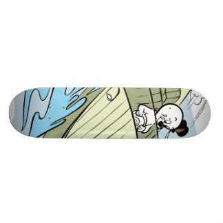 Spooky Speedboat Skateboard Deck