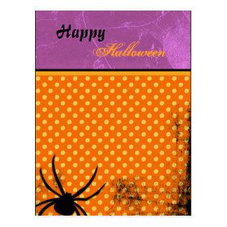 Spooky Spider Postcard