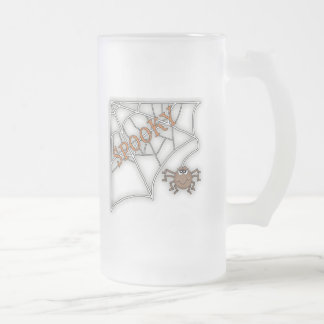 Spooky Spider Web Halloween Design Coffee Mugs