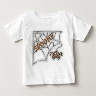 Spooky Spider Web Halloween Design Shirt