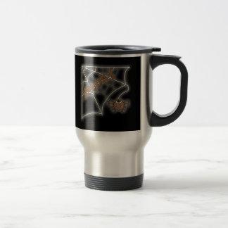 Spooky Spider Web Halloween Design Travel Mug