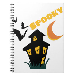 Spooky Spiral Note Books