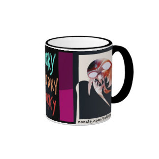 Spooky - the final question mug by Talisbird