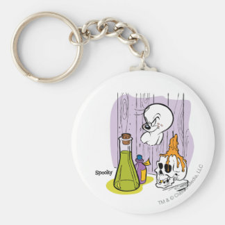 Spooky the Tuff Ghost Keychain