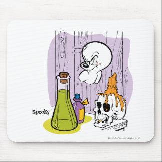 Spooky the Tuff Ghost Mouse Pad