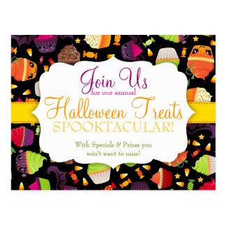 Spooky Treats - Special Event Postcard